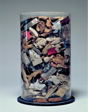 Jim Dine's Dustbin - Arman (1961)