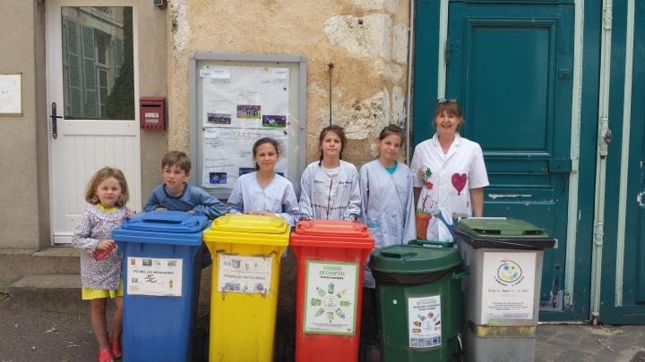 Portrait de collecteurs : Martine, Maud et les élèves de l'École Guéry àChartres