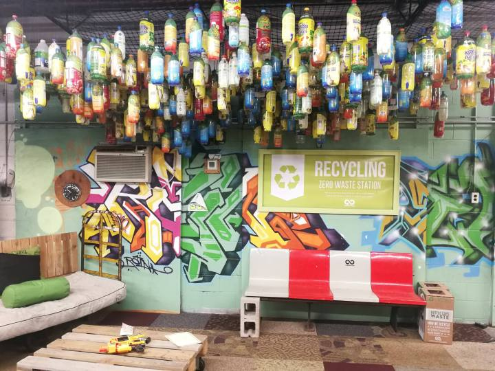 Visite guidée au siège de TerraCycle